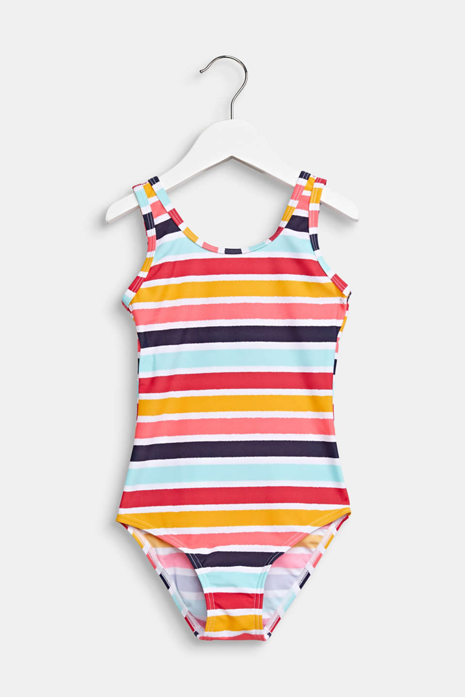Esprit - Colourfully striped swimsuit