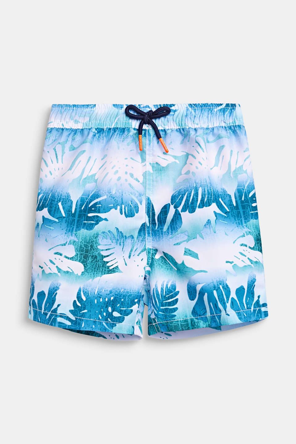 Esprit - Short de bain, imprimé tropical