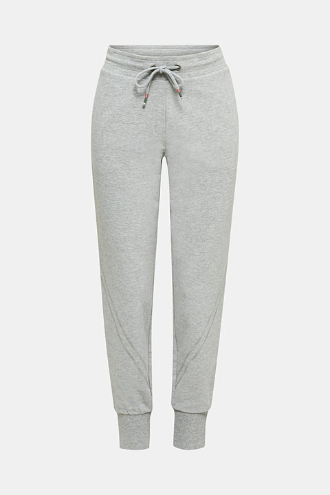 Soft jersey trousers with stretch for comfort