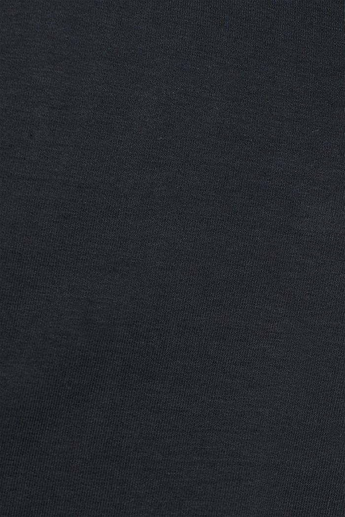 Legíny pro aktivní pohyb s lesklým potiskem, ANTHRACITE, detail image number 4