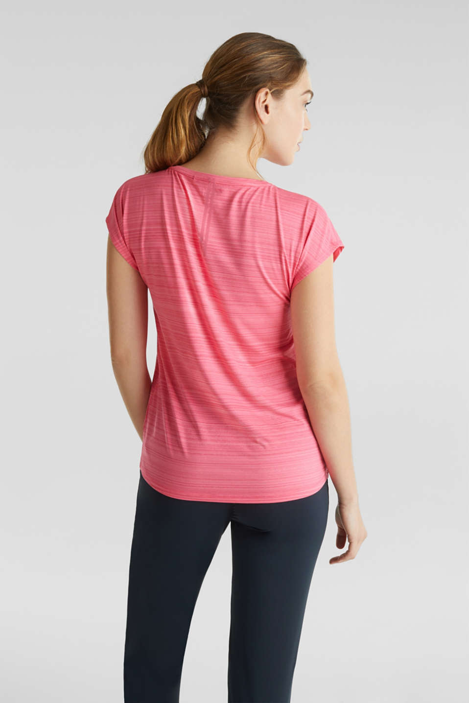 Active E-DRY top with accents, CORAL, detail image number 1