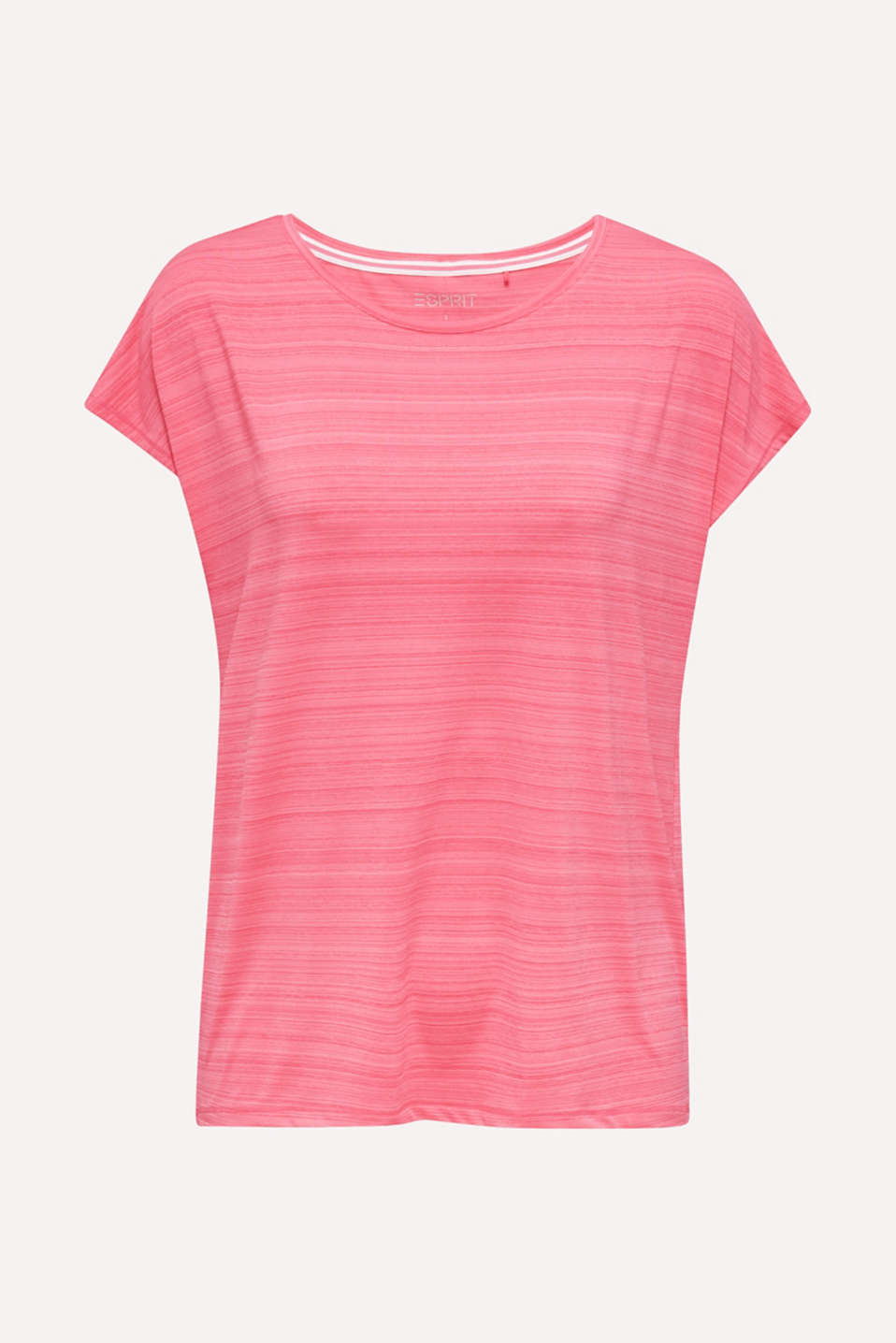 Active E-DRY top with accents, CORAL, detail image number 4