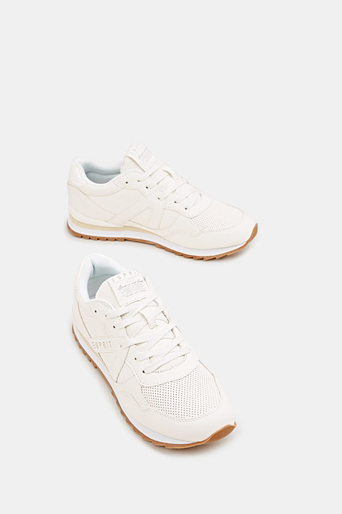 Faux nubuck trainers
