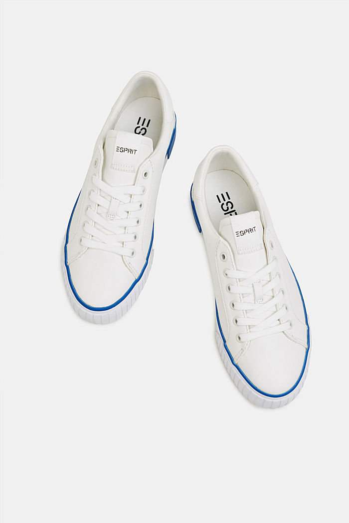 Trainers with contrasting details, BRIGHT BLUE, detail image number 1