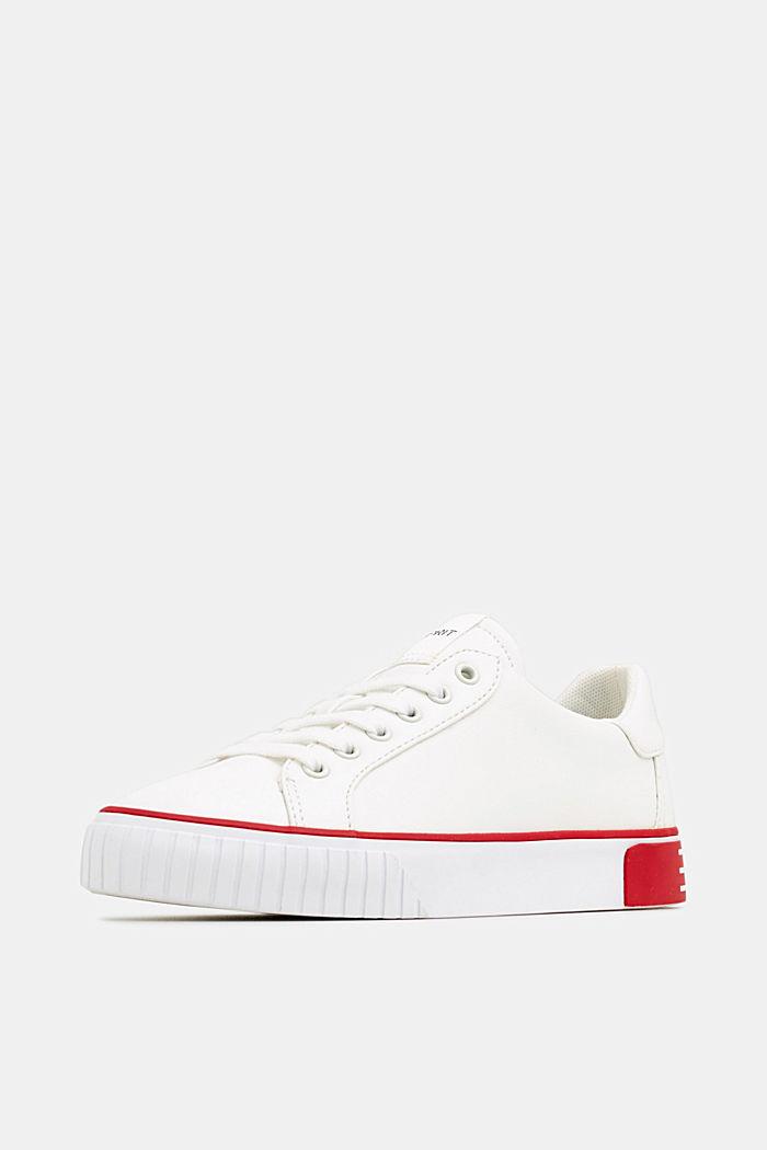Sneakers met contrastdetails, RED, detail image number 2