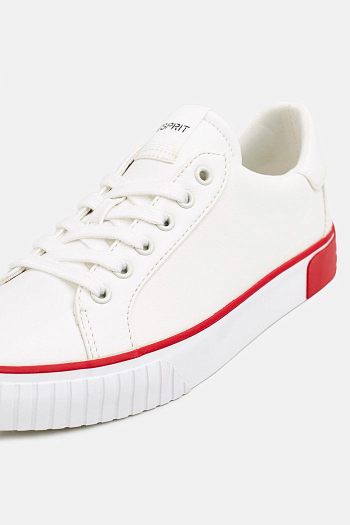 Sneakers met contrastdetails, RED, detail image number 4