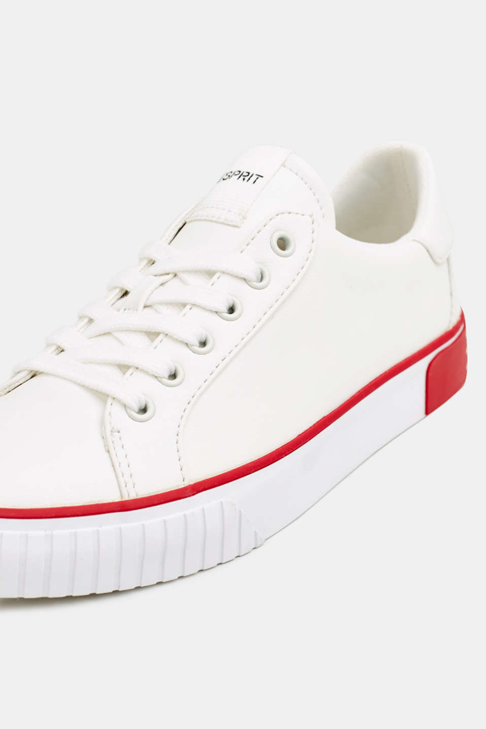 Trainers with contrasting details, RED, detail image number 4