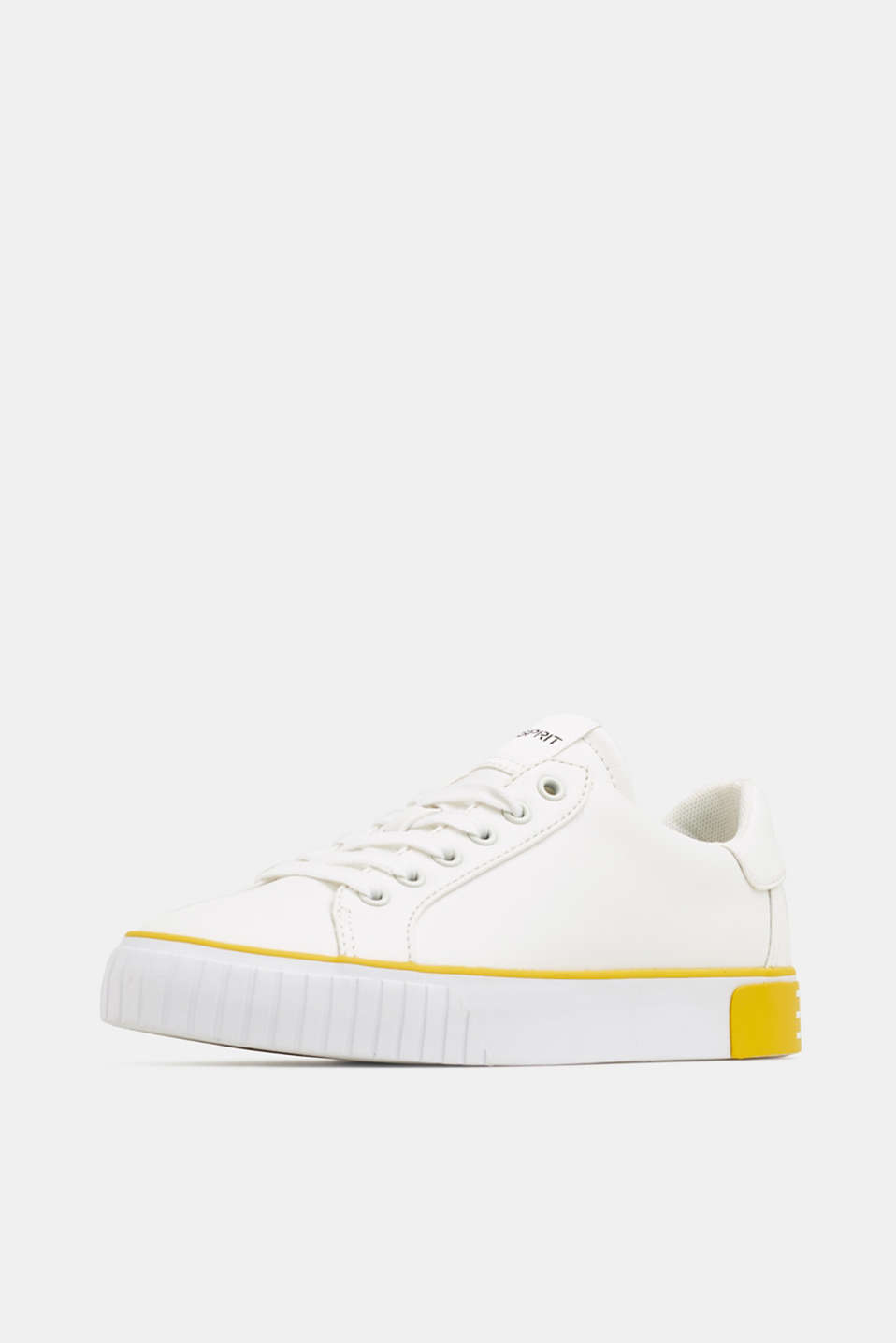 Trainers with contrasting details, YELLOW, detail image number 2