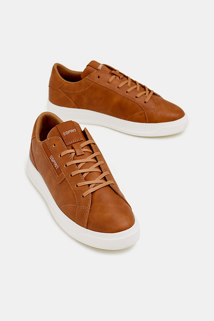 Trend-Sneaker in Leder-Optik