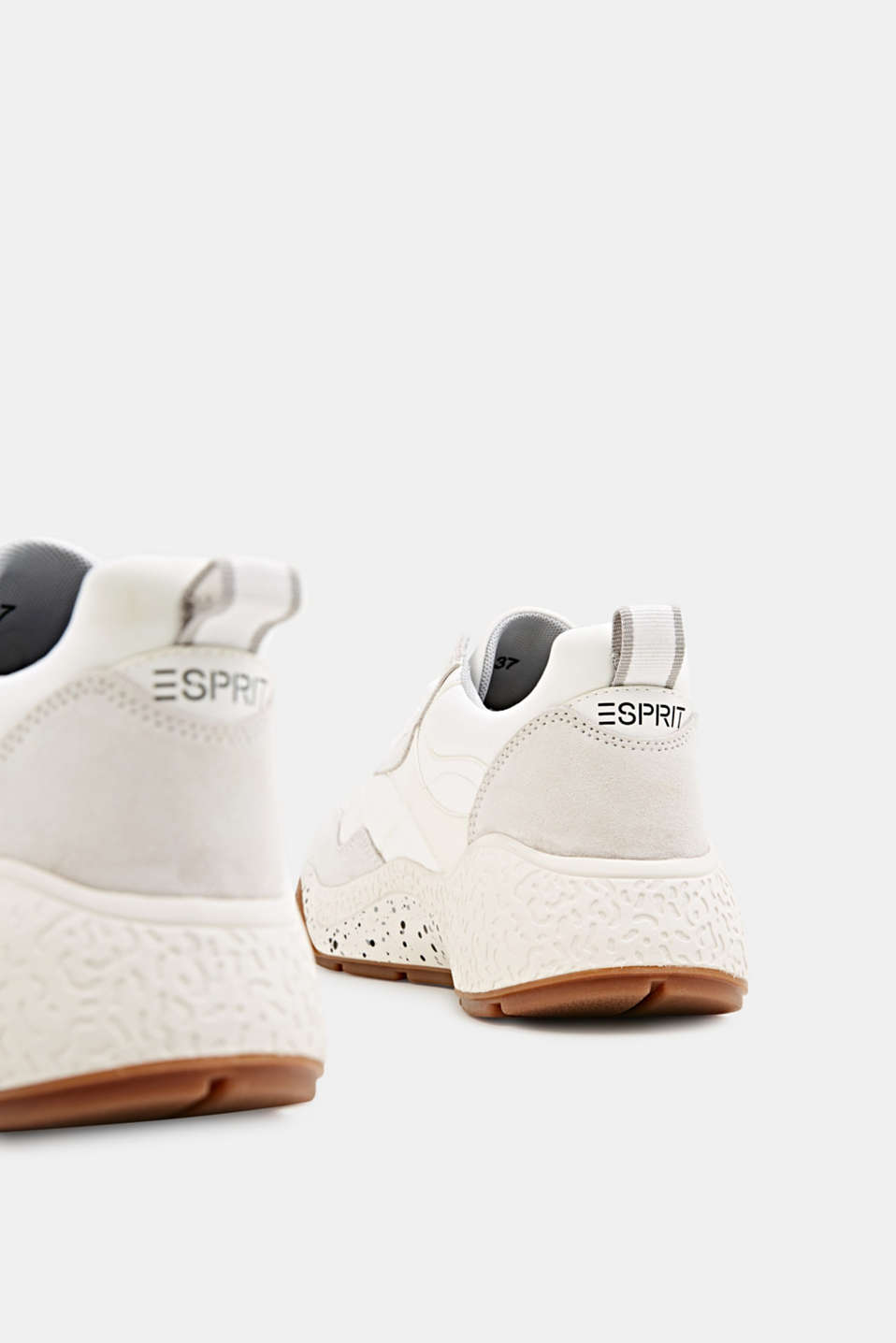 Trend trainers with an oversized sole, WHITE, detail image number 4