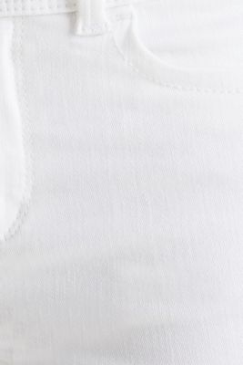 Shaping jeans in a double button design, WHITE, detail