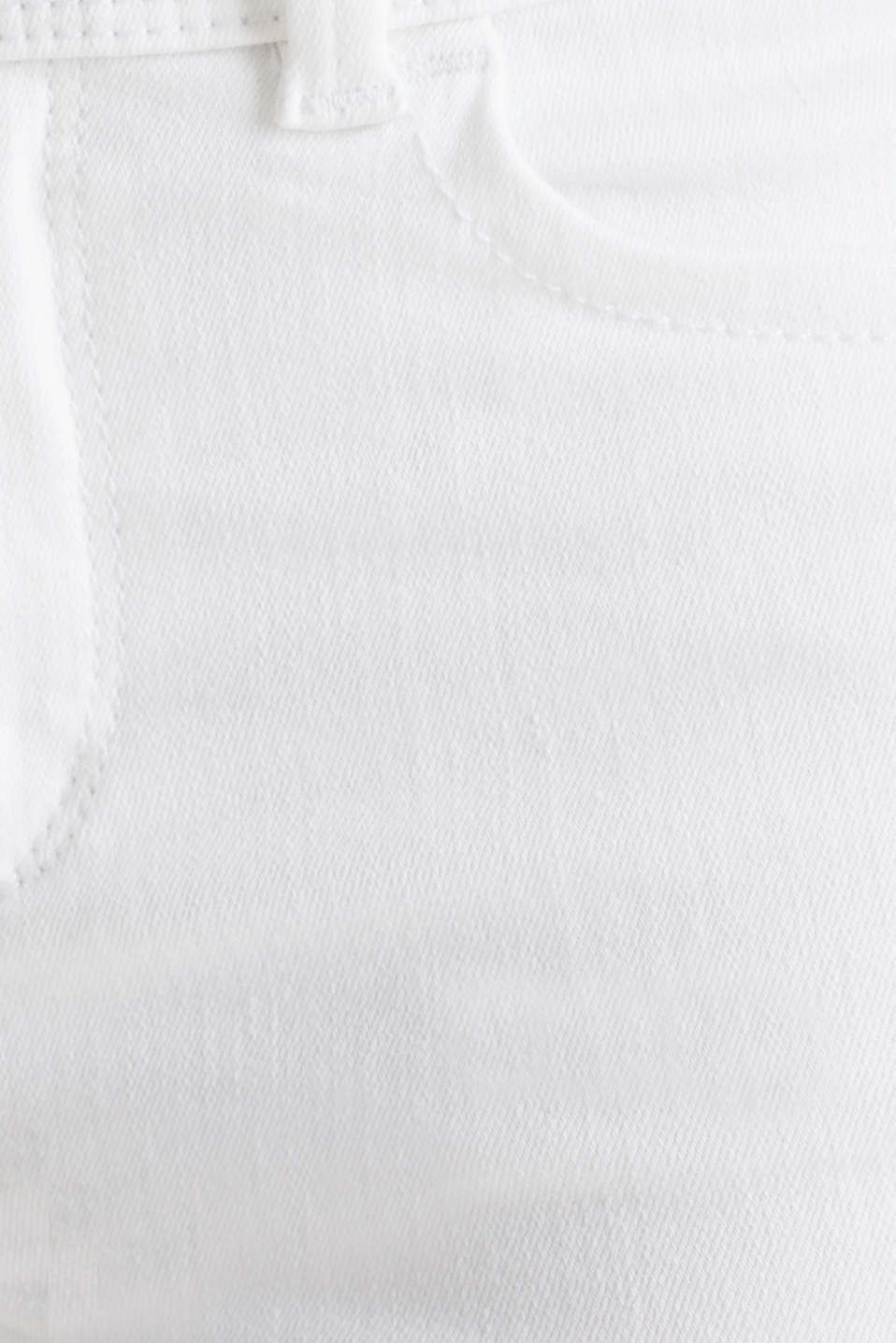 Shaping jeans in a double button design, WHITE, detail image number 4