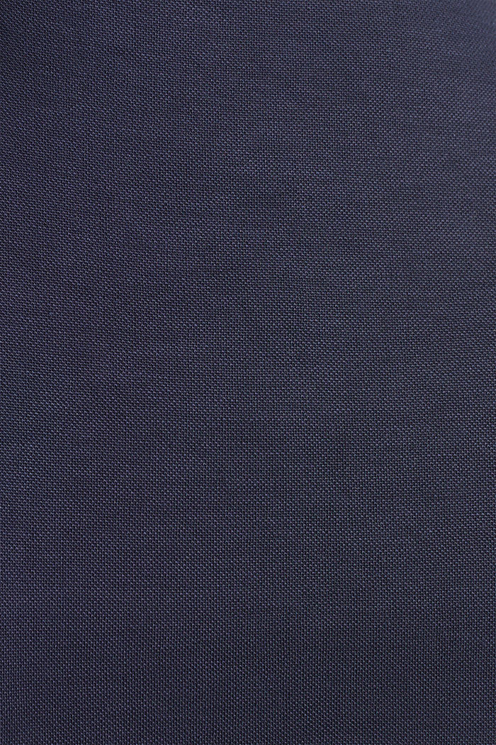 Jersey-Pants mit weitem Bein, NAVY, detail image number 4