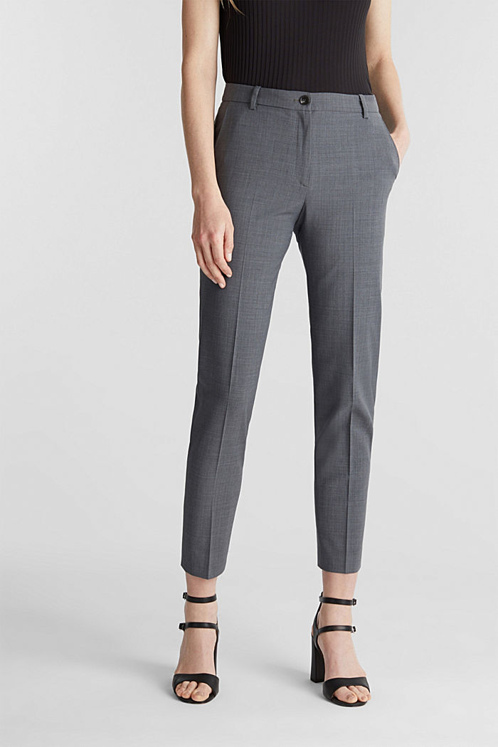 With wool: ACTIVE mix + match trousers