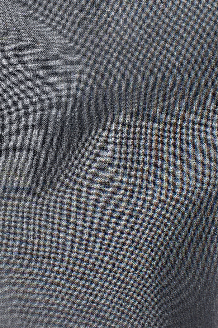 With wool: ACTIVE mix + match trousers, GREY, detail image number 4