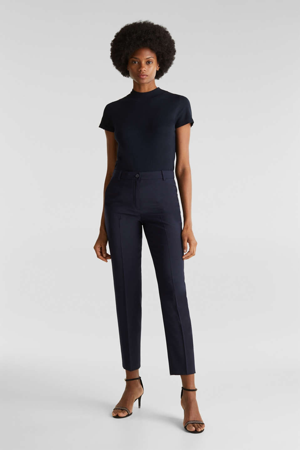 Esprit - With wool: ACTIVE mix + match trousers