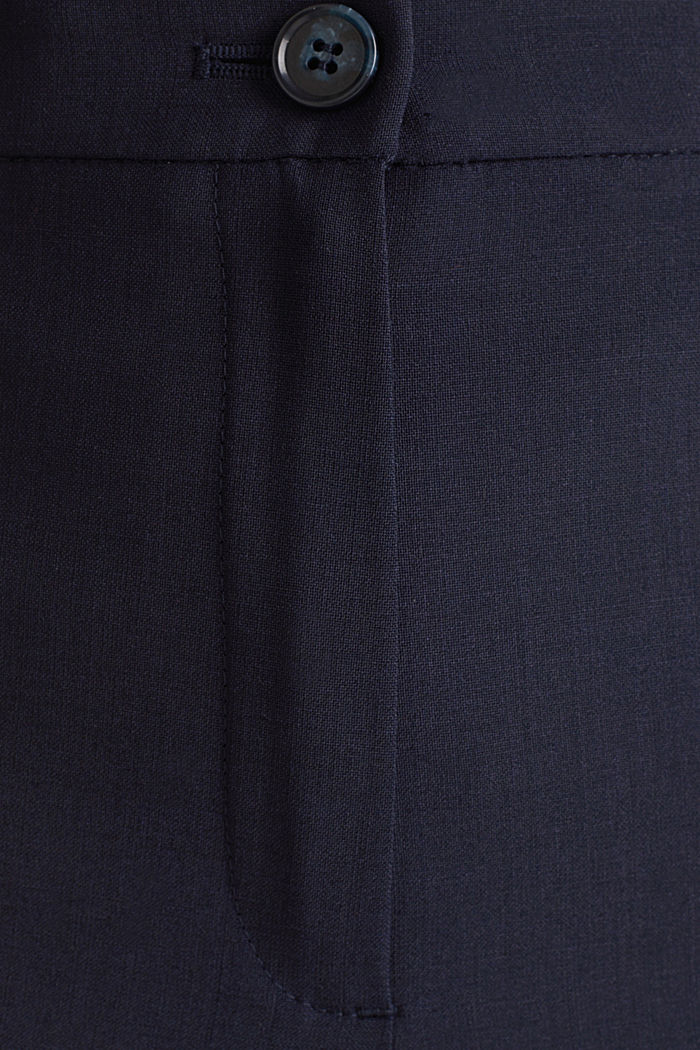 Mit Wolle: ACTIVE Mix + Match Hose, NAVY, detail image number 3
