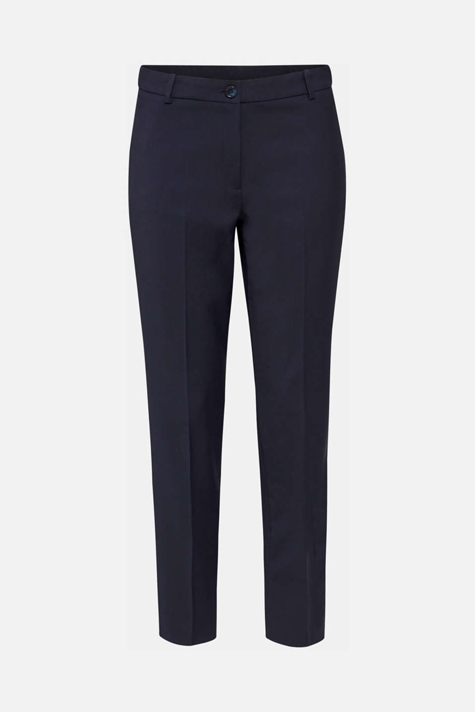 With wool: ACTIVE mix + match trousers, NAVY, detail image number 6