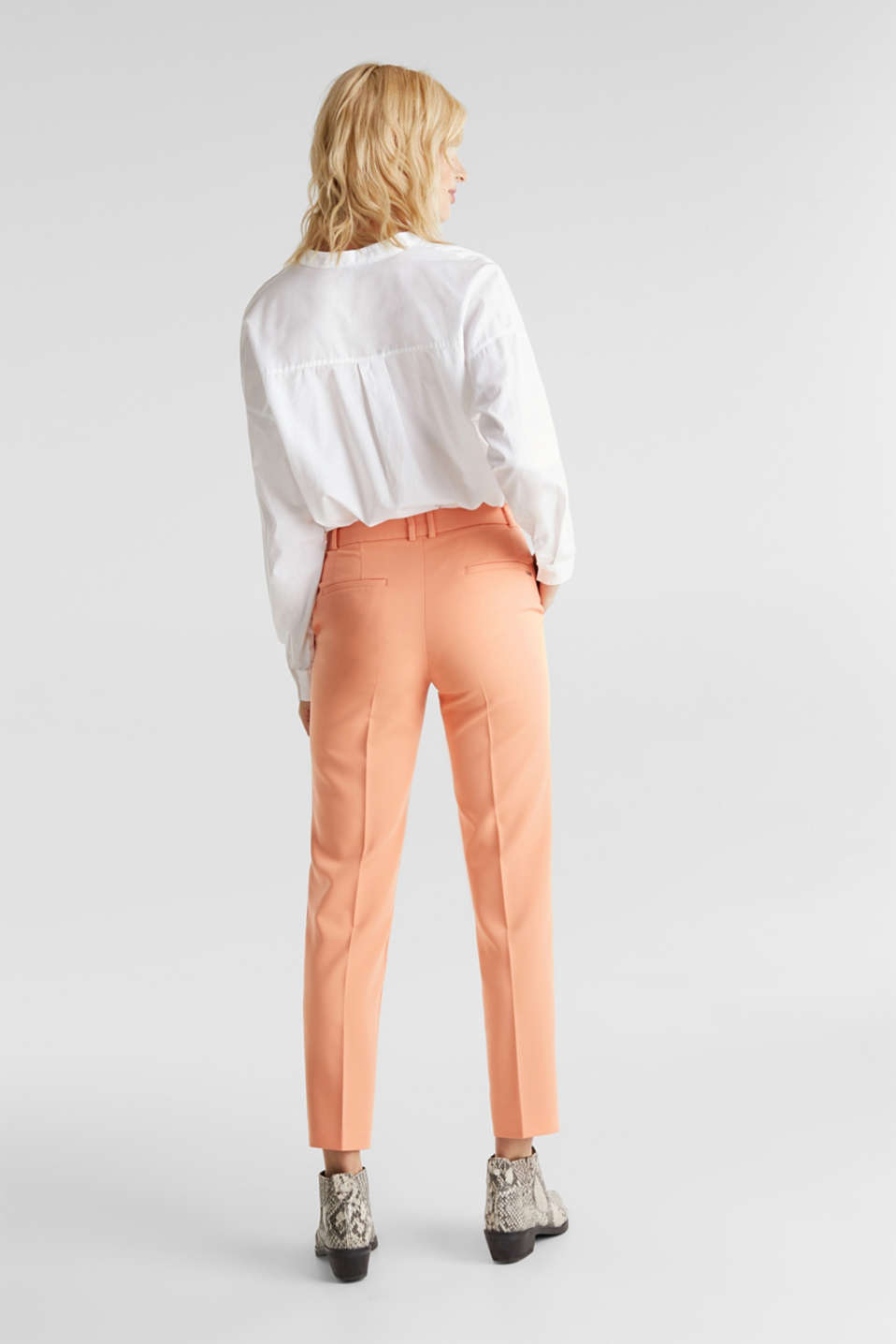 SPRING TWILL mix + match trousers, PEACH, detail image number 3