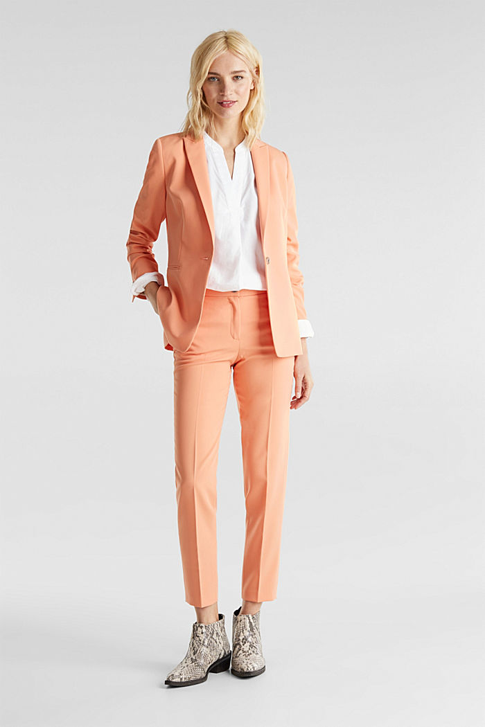 SPRING TWILL Mix + Match Hose, PEACH, detail image number 1