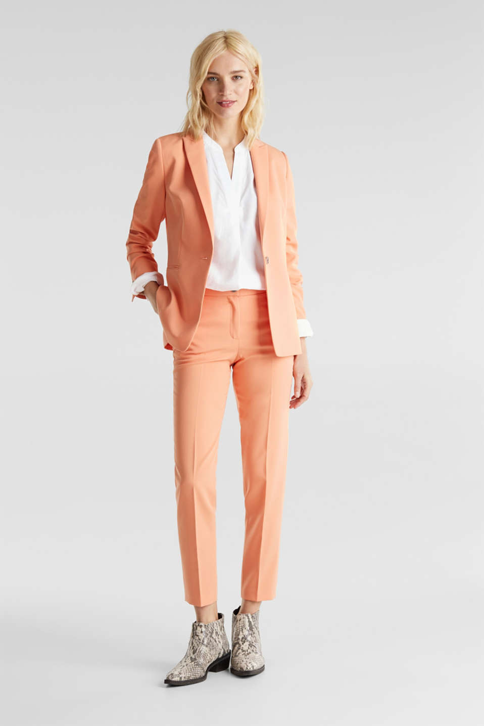 SPRING TWILL mix + match trousers, PEACH, detail image number 1