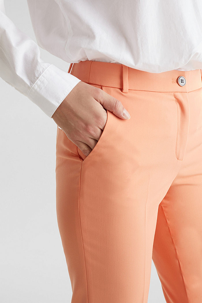 SPRING TWILL Mix + Match Hose, PEACH, detail image number 2