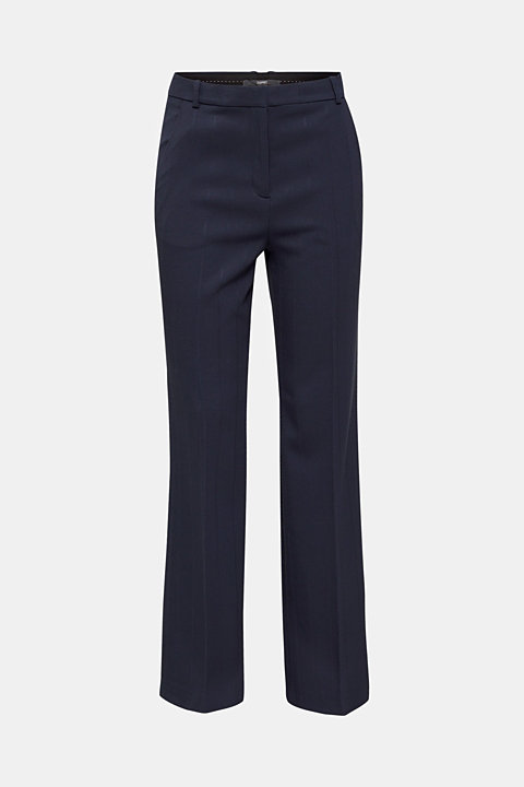 HERRINGBONE Mix + Match stretch trousers