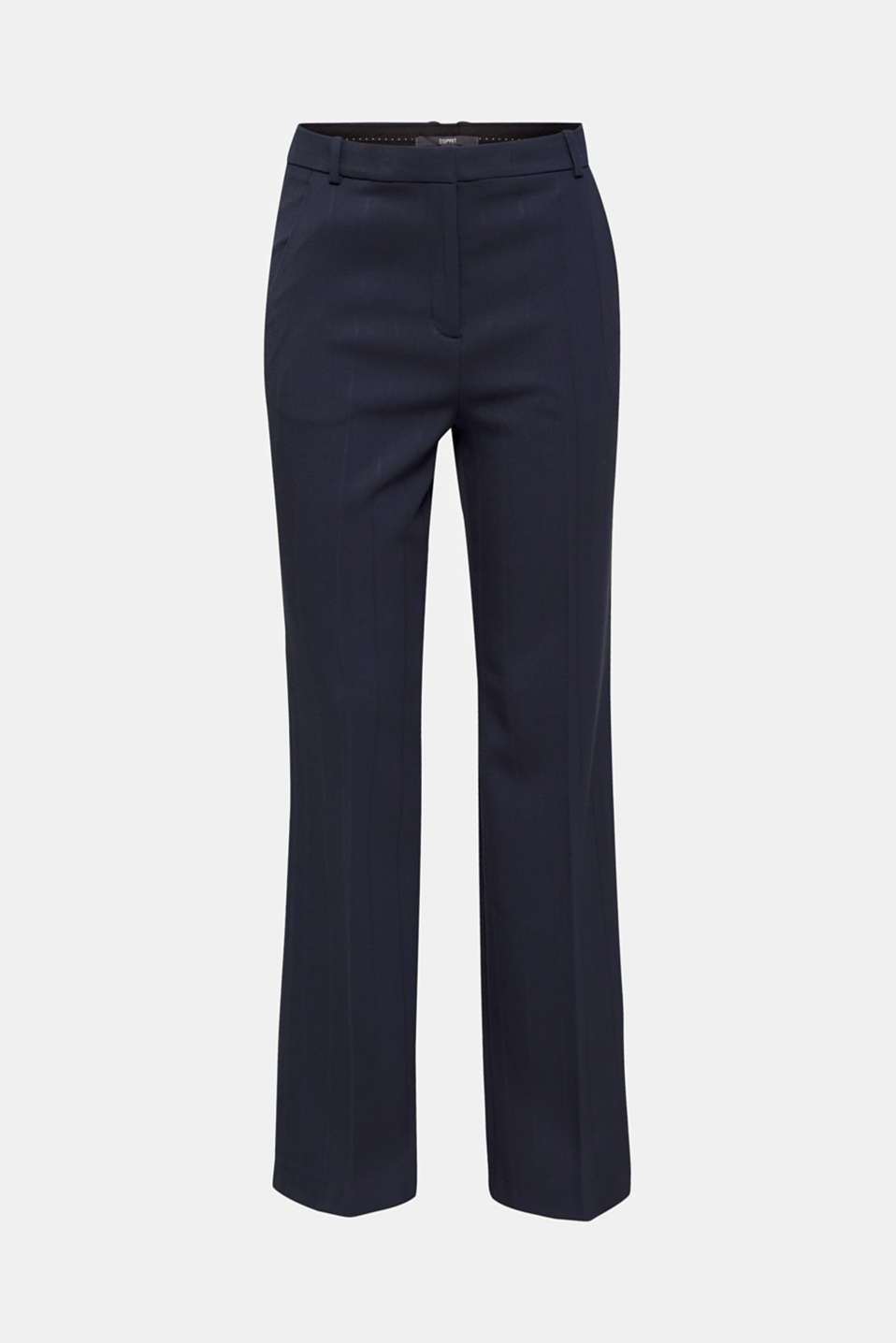 HERRINGBONE Mix + Match stretch trousers, NAVY, detail image number 7