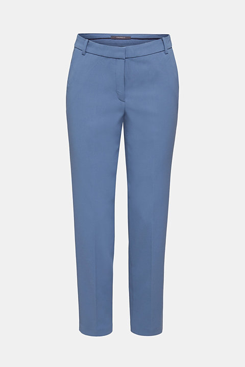 COLORED TWILL mix + match stretch trousers