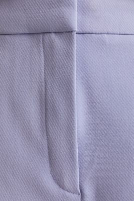 COLORED TWILL mix + match stretch trousers, BLUE LAVENDER, detail