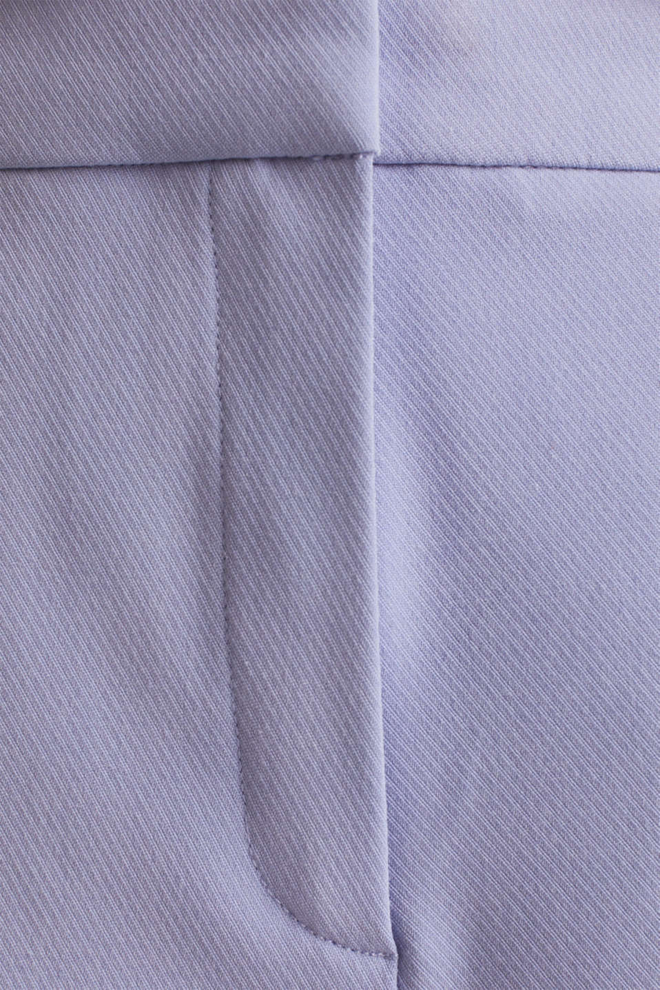 COLORED TWILL mix + match stretch trousers, BLUE LAVENDER, detail image number 4