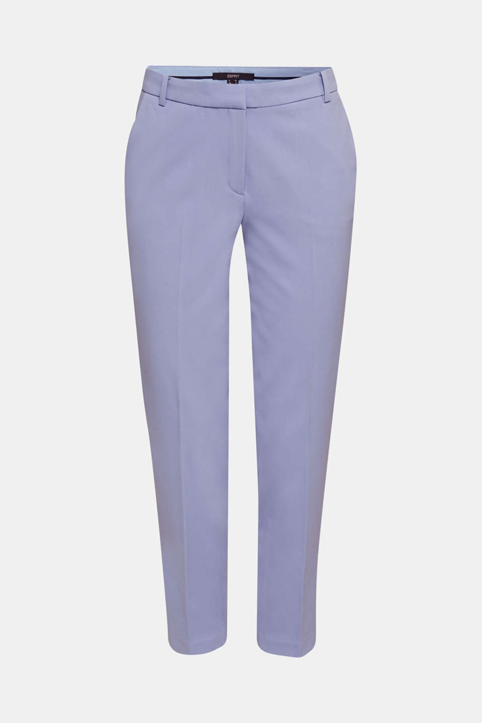COLORED TWILL mix + match stretch trousers, BLUE LAVENDER, detail image number 5