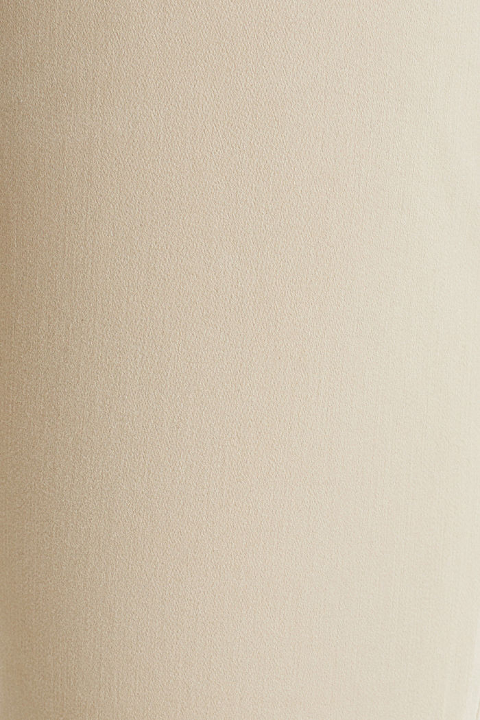 With TENCEL™: bi-stretch trousers, BEIGE, detail image number 4