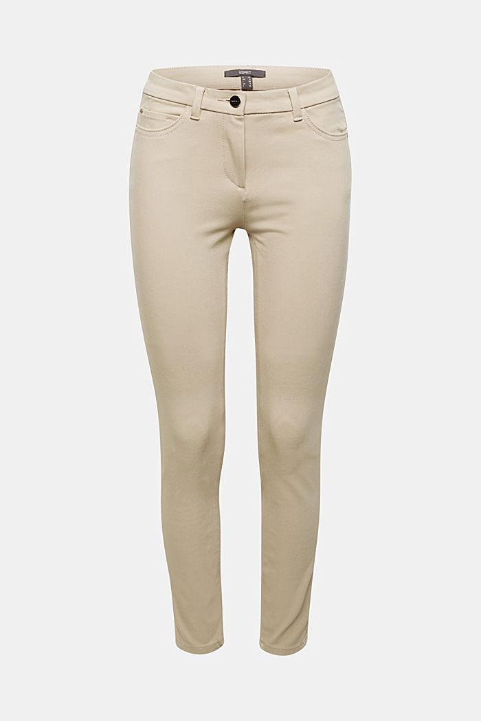 Met TENCEL™: bi-elastische broek, BEIGE, detail image number 6