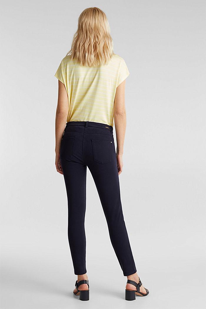 Con TENCEL™: pantalón bielástico, NAVY, detail image number 3