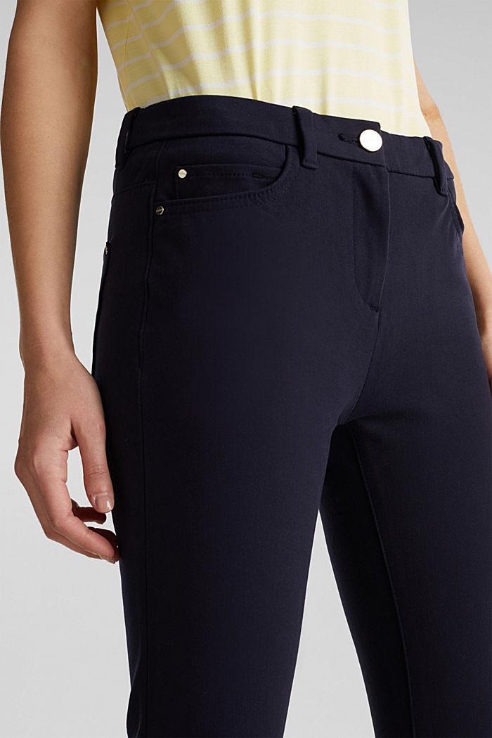 Con TENCEL™: pantalón bielástico, NAVY, detail image number 2