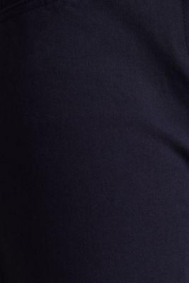 With TENCEL™: bi-stretch trousers, NAVY, detail