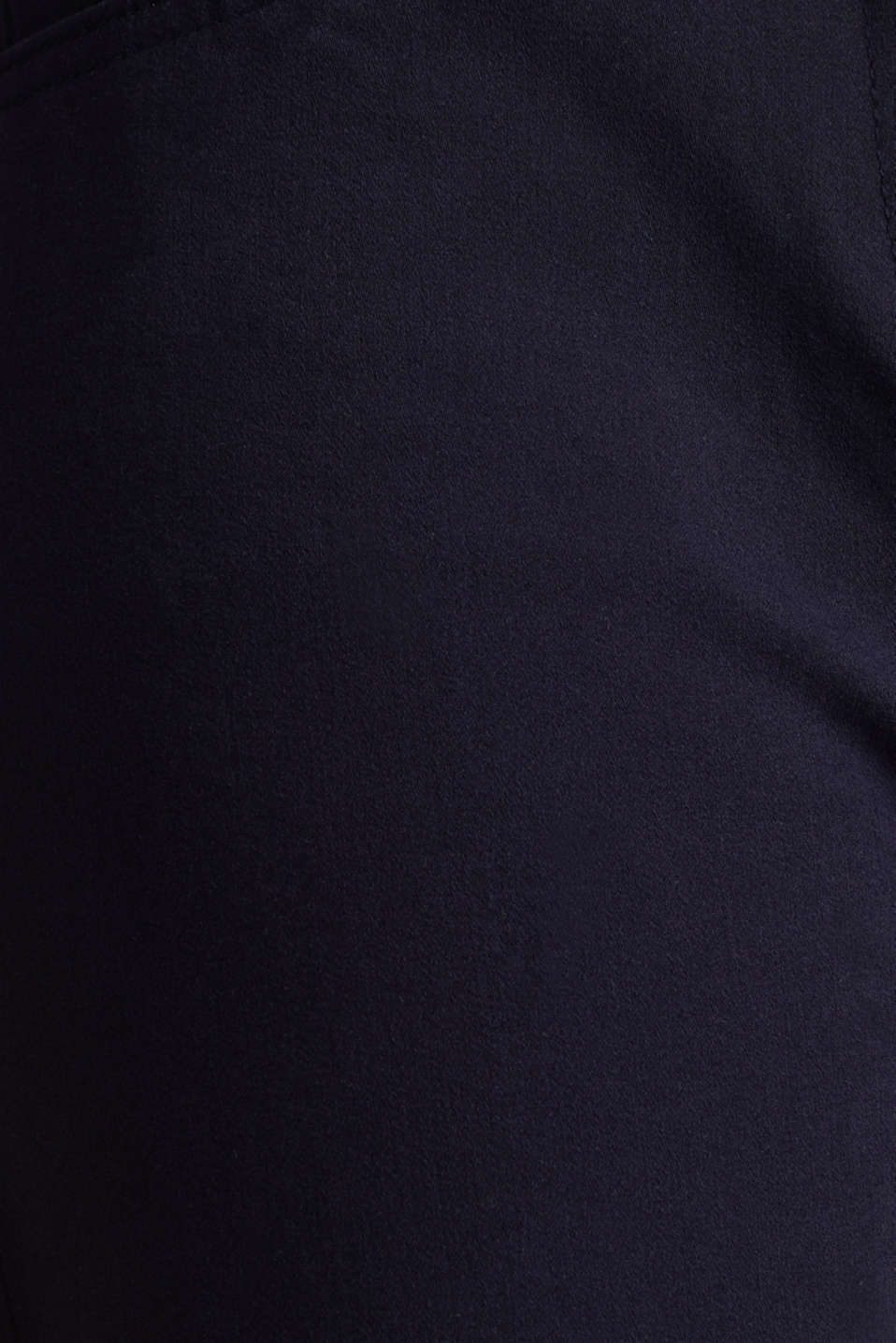 With TENCEL™: bi-stretch trousers, NAVY, detail image number 4