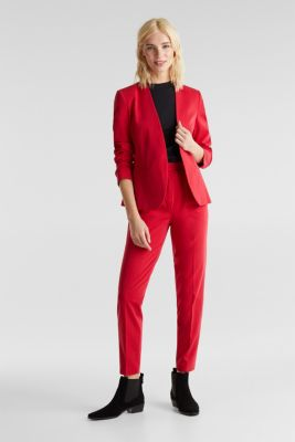 MODERN Mix + Match trousers with a high-rise waist, RED, detail