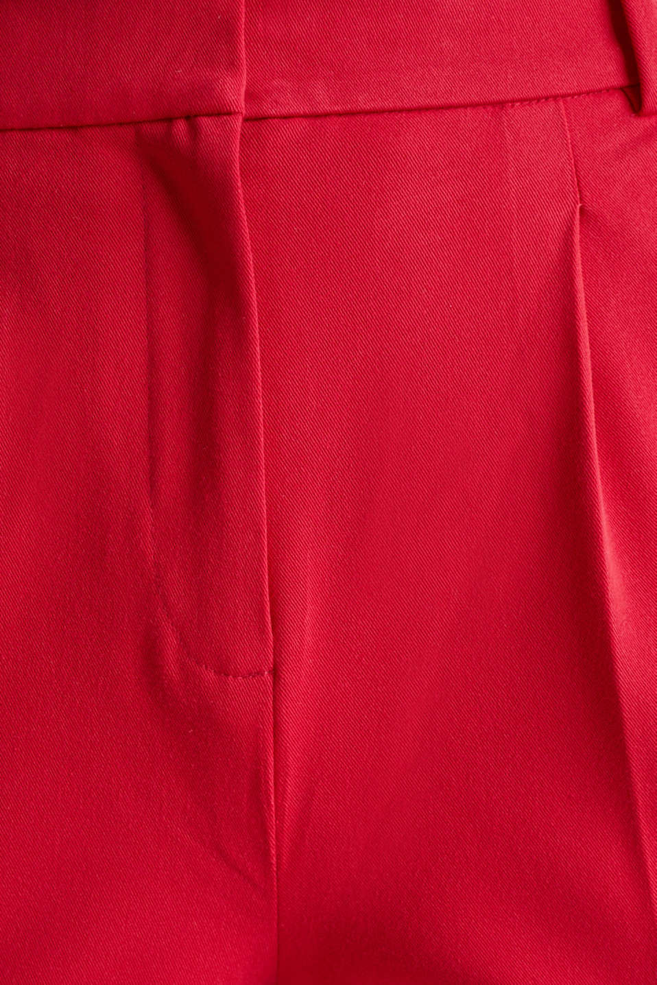 MODERN Mix + Match trousers with a high-rise waist, RED, detail image number 4
