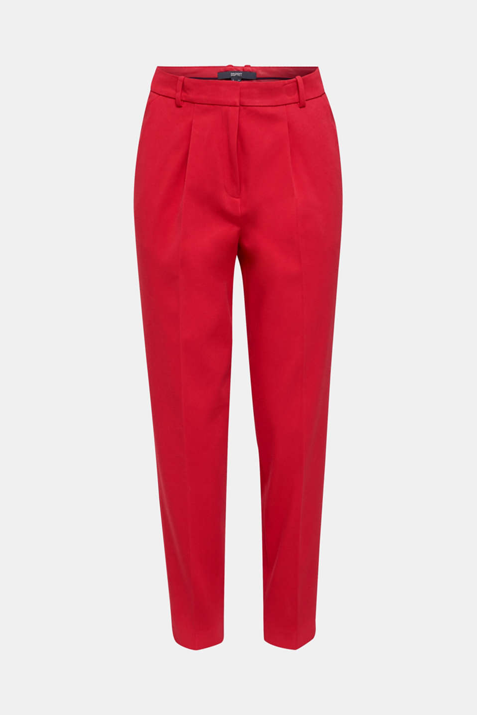 MODERN Mix + Match trousers with a high-rise waist, RED, detail image number 7