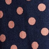 Satined polka dot skirt with stretch, NAVY 4, swatch