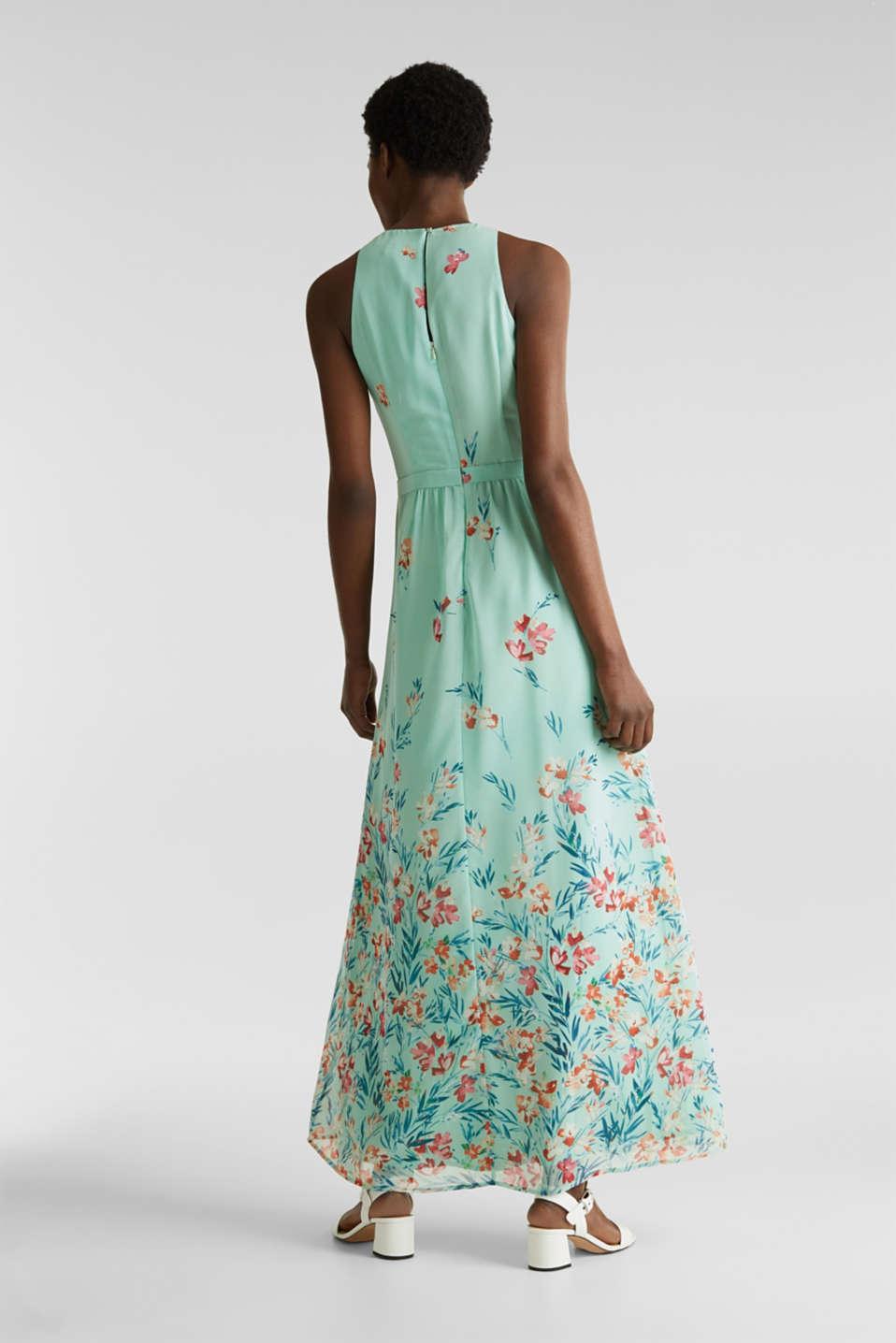 Chiffon maxi dress, PASTEL GREEN 4, detail image number 2