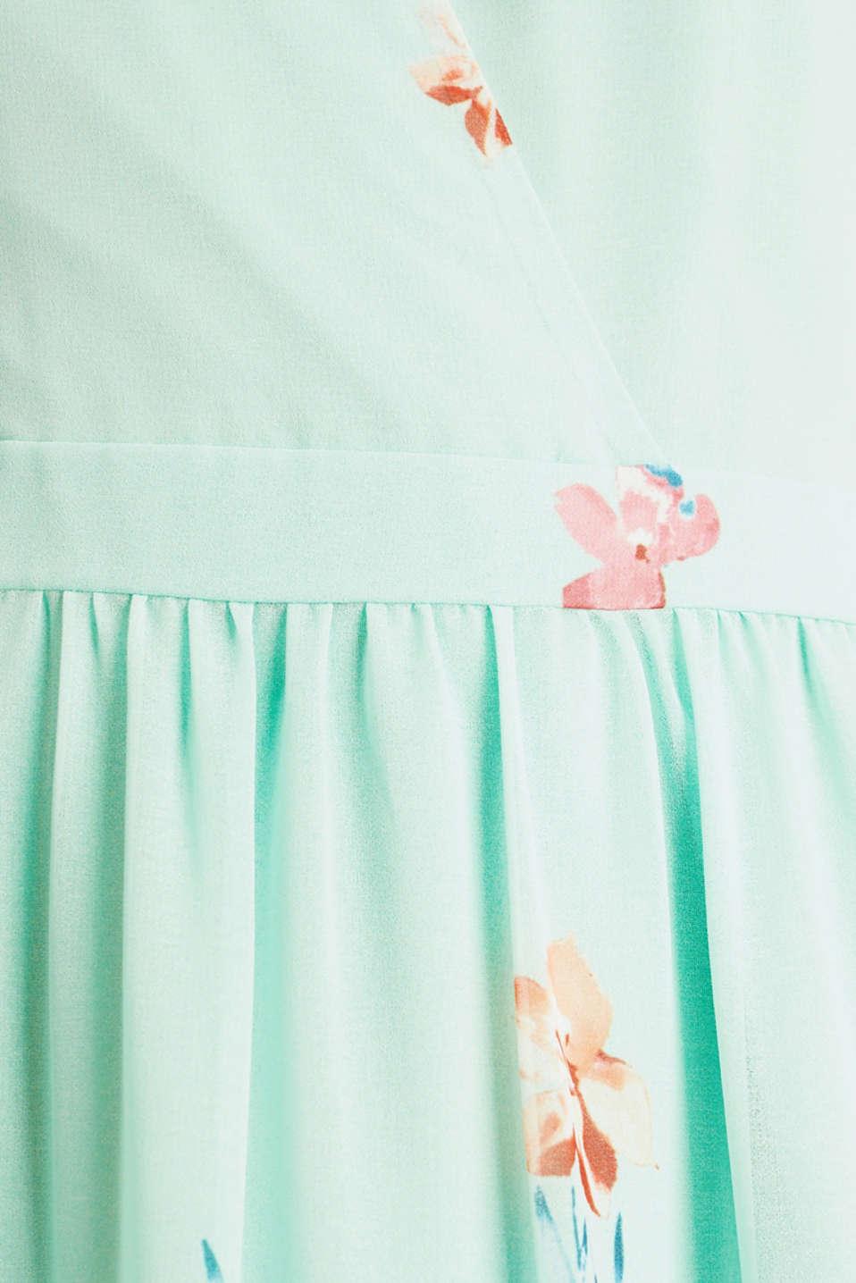 Chiffon maxi dress, PASTEL GREEN 4, detail image number 4