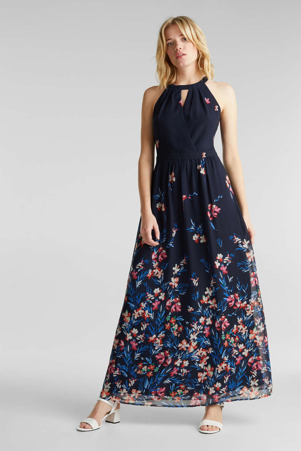 Esprit - Chiffon maxi dress