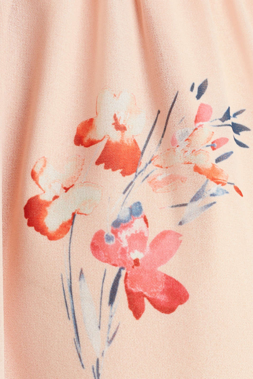 Chiffon maxi dress, PASTEL PINK 4, detail image number 3