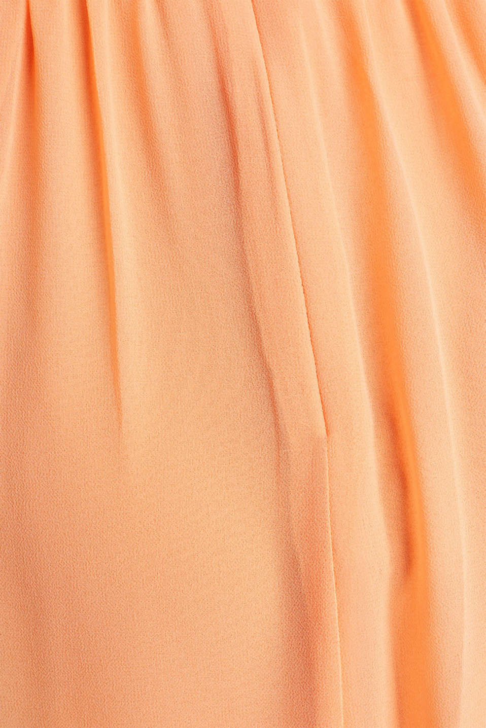 Chiffon dress with cut-away shoulders, ORANGE, detail image number 3
