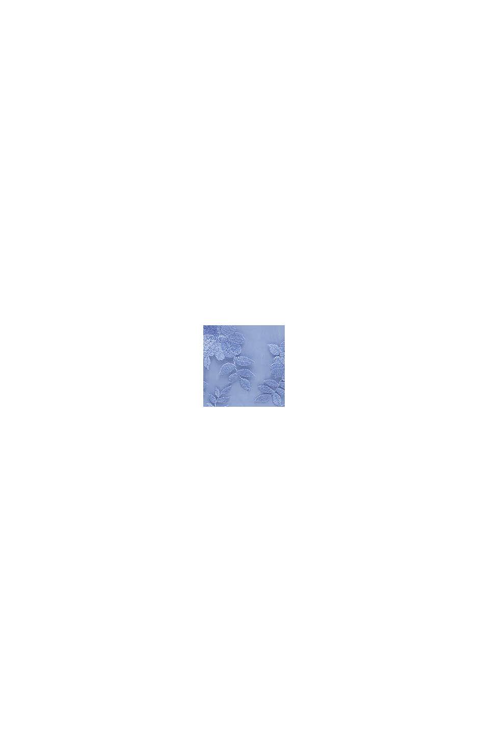 Tüll-Kleid mit Stickerei, BLUE LAVENDER, swatch