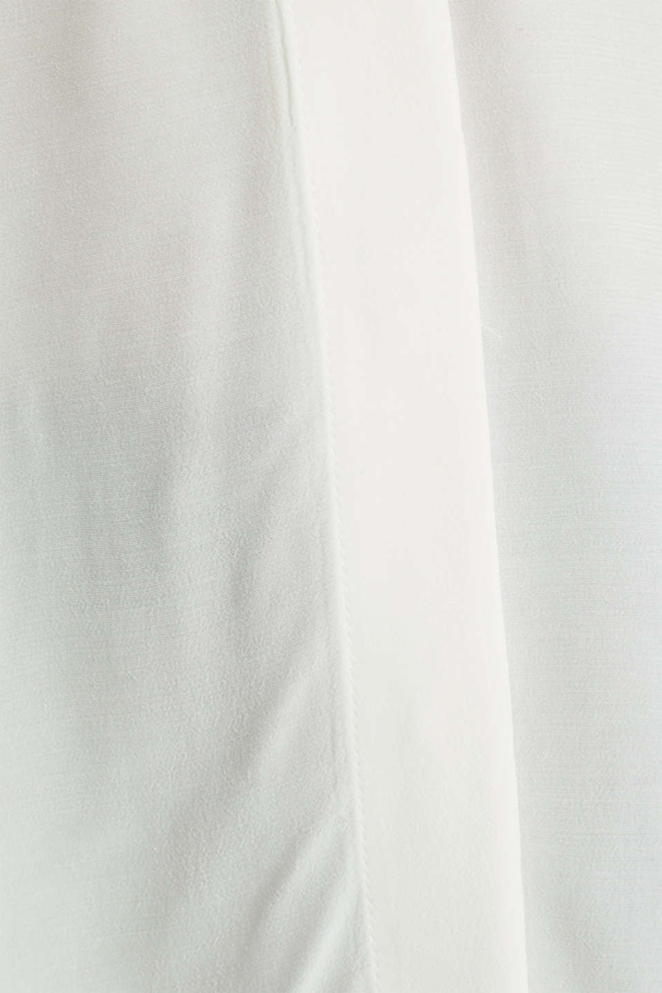 Long blouse with LENZING™ ECOVERO™, OFF WHITE, detail image number 4