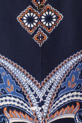 Blouse with a paisley print, NAVY 4, detail